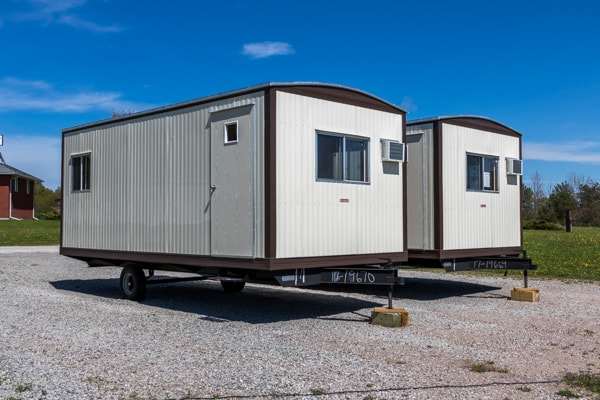 20 foot by 10 foot Construction Office Trailer