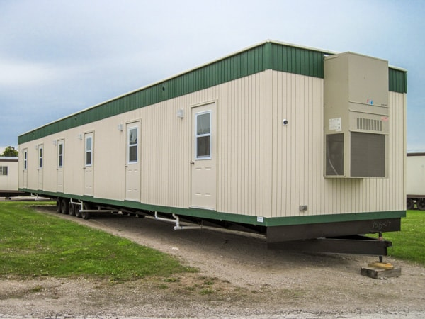 60 foot by 12 foot Bunkhouse Custom Office Trailer